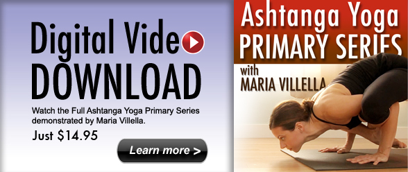 Digital Download: Ashtanga Yoga Primary Series with MARIA VILLELLA