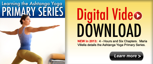 Digital Download: Learning the Ashtanga Yoga Primary Series with MARIA VILLELLA